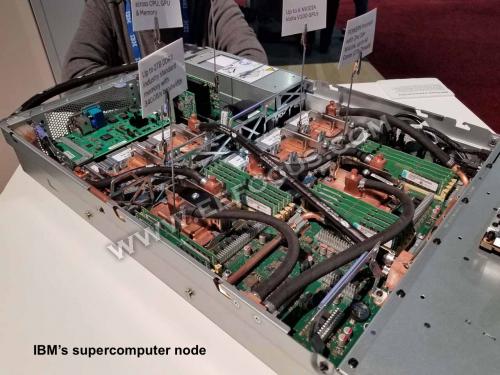 美国想凭Summit夺回超级计算机霸主地位,要看IBM和英伟达实力有多强?