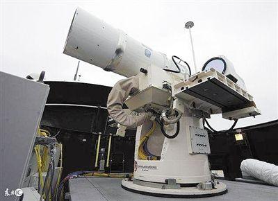飞机上安装激光武器 成就天上的死亡炮塔