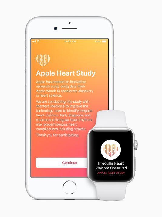 苹果Apple Watch新应用可监控用户心率
