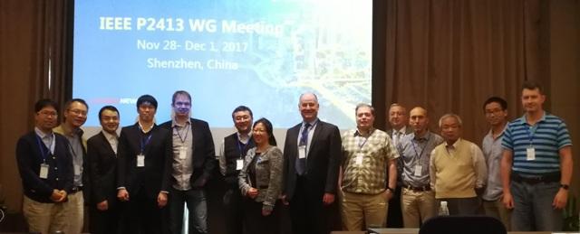 华为智慧城市架构经IEEE P2413国际标准会议纳入P2413标准