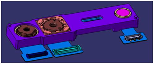 在3d传感器领域,奥比中光不仅具有结构光,双目,投影方案,还是惠普独家