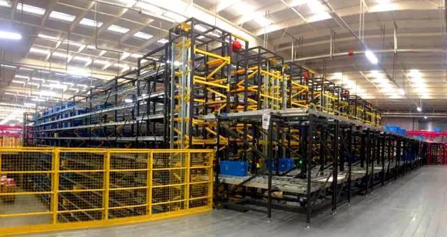 唯品会引入兰剑物流黑科技 电商行业首创蜂巢全自动集货缓存系统