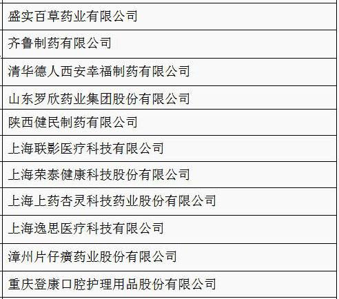 这11家医疗企业被工信部看好
