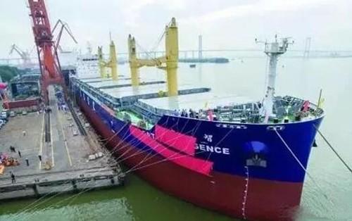 我国建成全球首艘智能船 船上覆盖500个传感器