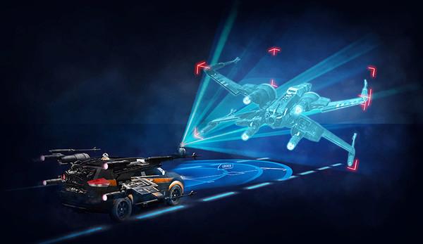 日产使用星球大战AR展示安全技术最新进展