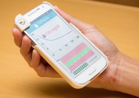 GPhone智能手机壳可用于分析血液样本
