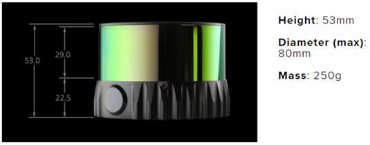Velodyne不再一家独大 Ouster发布64线激光雷达(LiDAR)
