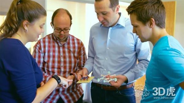 研究员开发出将分子对象转换成3D模型的RealityConvert软件