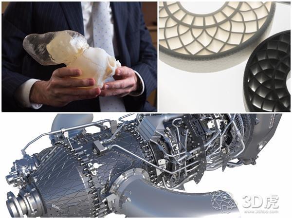 2021年,75%的飞机将使用3D打印部件