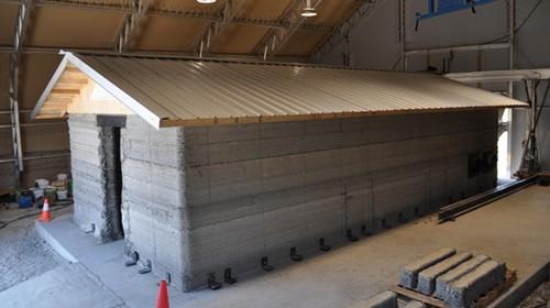 美国21小时打印完成47.5平米混凝土房屋