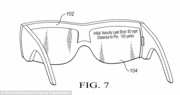 球童要失业?耐克AR眼镜专利可辅助高尔夫球选手
