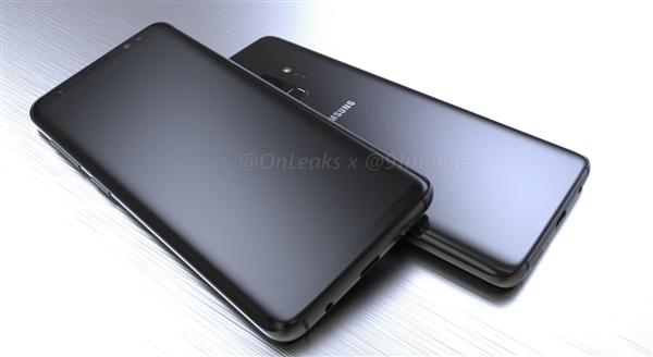 三星S9渲染图大曝光:全面屏+骁龙845
