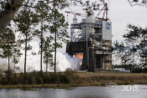 3D打印重型RS-25火箭发动机成功进行热点火试验