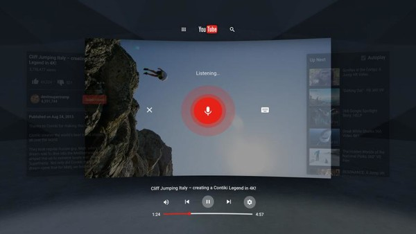 看片新选择!YouTube VR正式登陆SteamVR