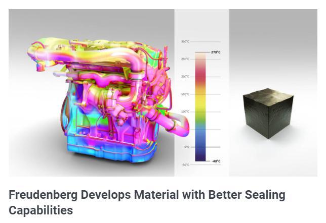 科德宝研发新氟化橡胶专利产品 密封性及化学性能良好
