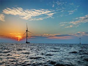 国电电力浙江舟山普陀六号海上风电场并网发电