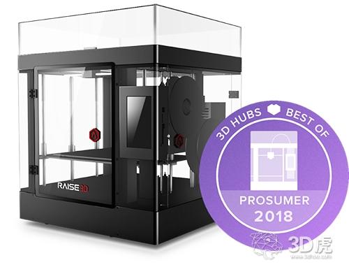 Raise3D梅开二度 再获全球3D打印大奖