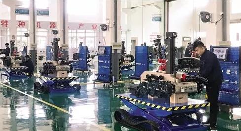 中信重工浙江梅山建特种机器人基地