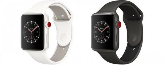苹果手表系列3 LTE用户每月付费超过10美元