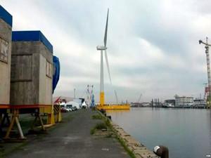 法国耗资2950万美元推出首个漂浮式风电机组