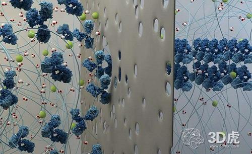 研究人员开发出在水凝胶中产生分子模式的3DEAL技术