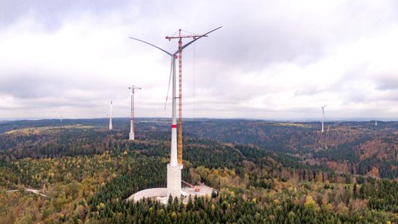 全球最高的风力涡轮机已在德国成功并网