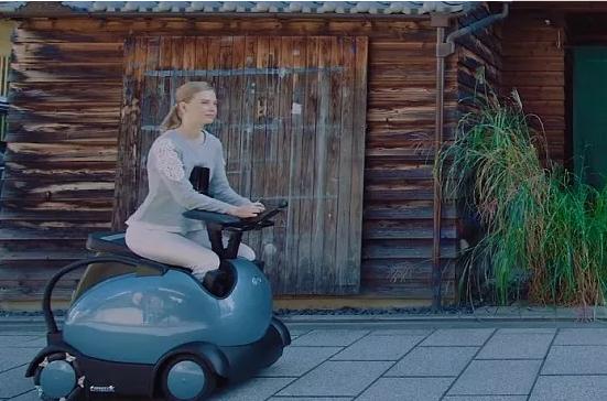 3600多公斤的可驾驶四足机器人:能跑能跳超霸气