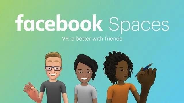 Facebook在HTC Vive平台推出Spaces,实现了跨平台兼容