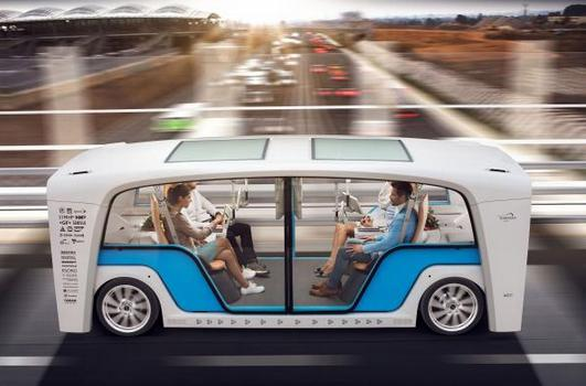 欧司朗与Rinspeed合作Snap车型 为自动驾驶车辆提供多项功能