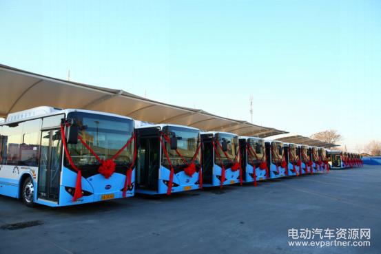 北京通州再增350辆纯电动公交 比亚迪客车首次进京