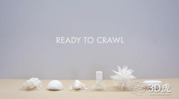 日本开发出像生物一样移动的3D打印生物启发机器人