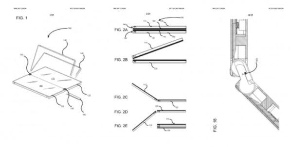 Surface Phone专利曝光:翻盖转轴可任意角度停顿