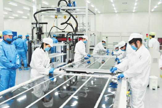 大同首条柔性薄膜太阳能电池产线投产