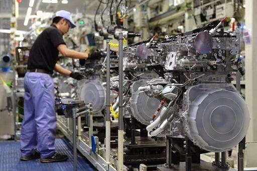 日本制造业生产效率滑至1995年来新低