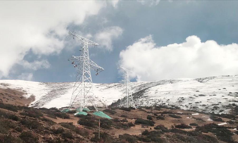 中天电力研制成功耐极寒(-70℃)、低损耗光纤复合架空地线