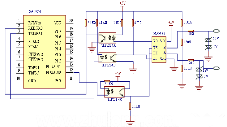 室内智能照明控制系统电路设计