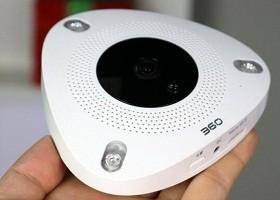 360看店寶智能攝像機評測:多角度四分屏 店鋪全景監控