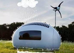 新能源的新玩法:蛋壳小屋满足你的幻想