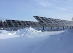 【酷图】在春雪中美翻了的光伏电站