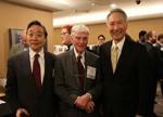胡正明与王宁国获选入硅谷工程协会名人堂