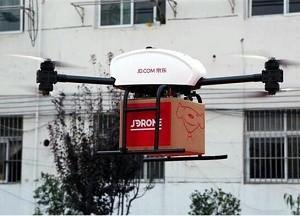 京东欲在陕西建百个无人机机场 网购可按分钟配送