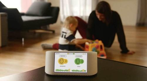 智能空气监测器可检测家中空气质量