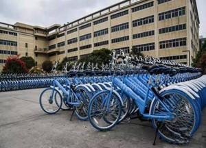 """全自动化生产线 """"小鸣""""共享单车每日2万台"""