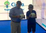 微软黑科技:手持电子球可在游戏中记录健康数据