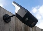 完美组合:户外监控摄像头与太阳能电池合体
