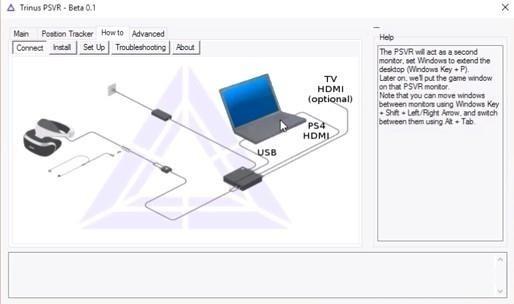 Trinus已开发<font color='red'>PS</font> <font color='red'>VR</font>的第三方驱动程序(附教程)