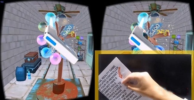 用A4纸制作自己的VR动作控制器:简单炫酷