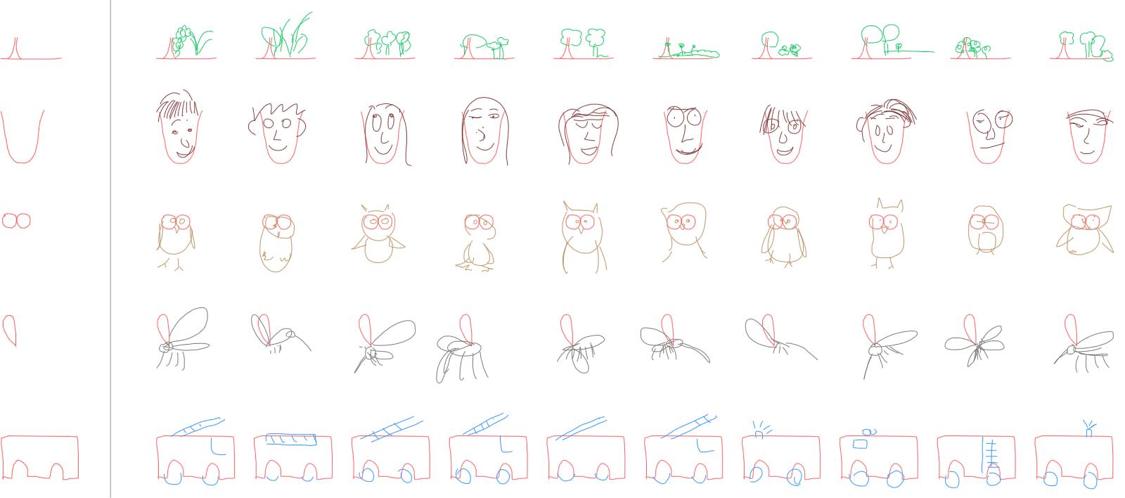 人工智能学会了简笔画