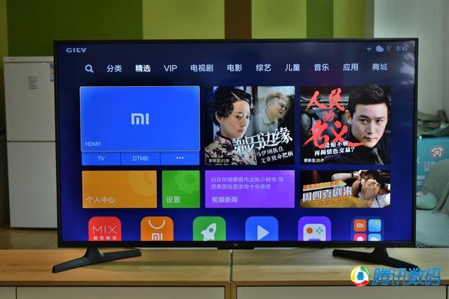 55英寸小米电视4A评测 语音控制水平有提升