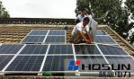 核新电力太阳能光伏电站成为家庭标配